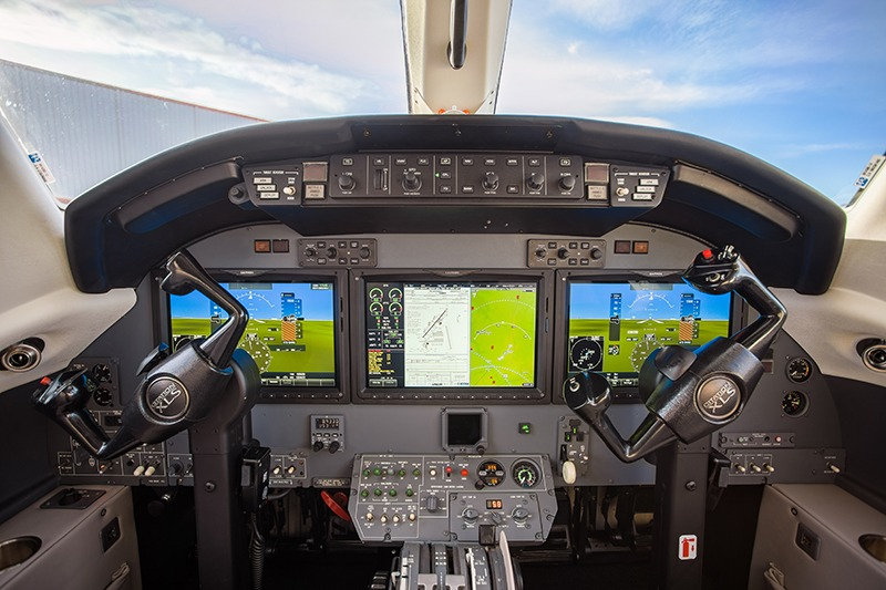 Stevens Aerospace completes install of G5000 on Citation XLS