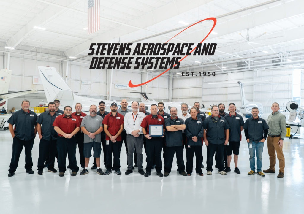 Stevens Aerospace was recognized by the SC Employer Support of the Guard and Reserves